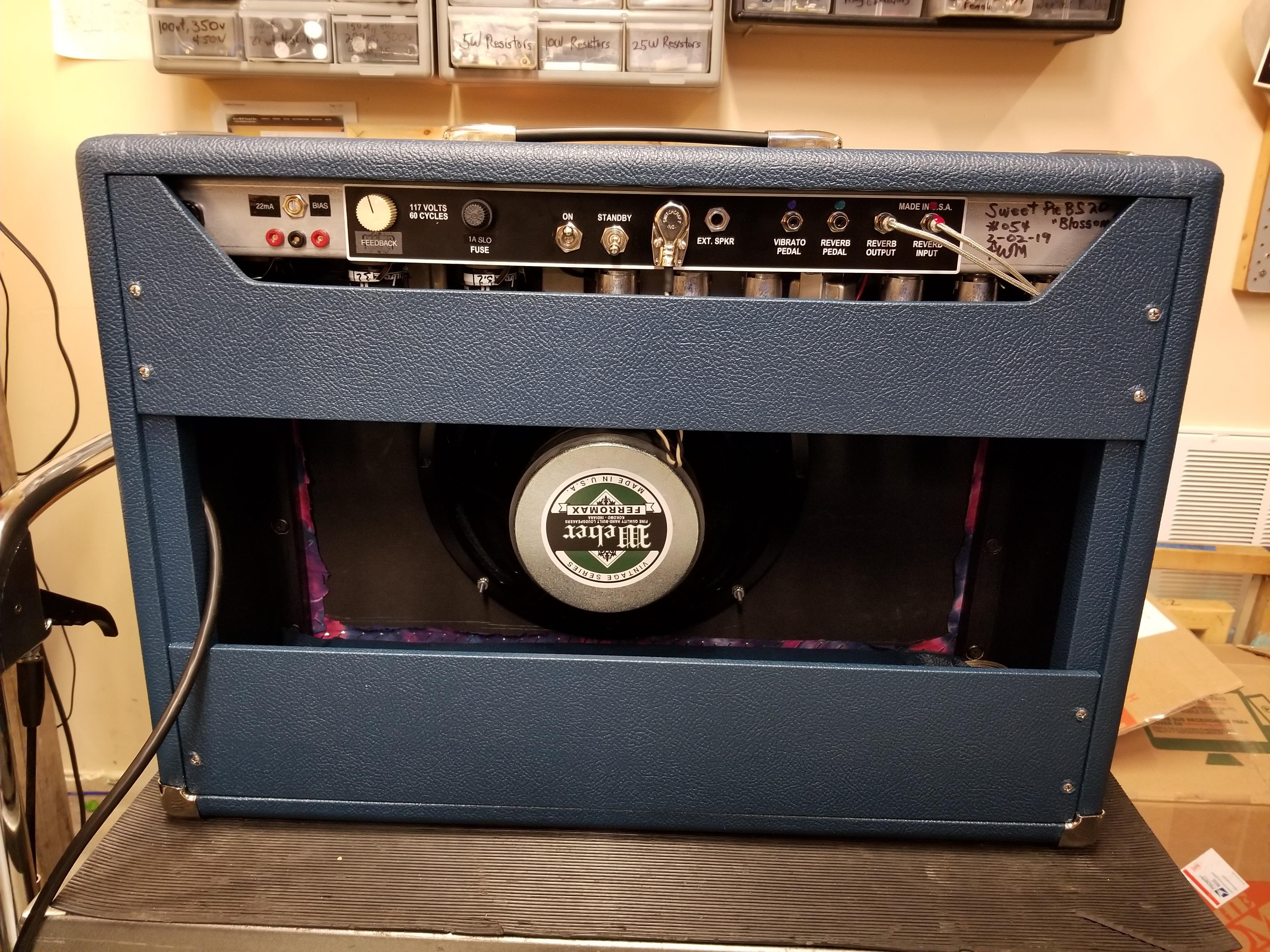 Sweet Amplification | Handwired Guitar Amplifiers